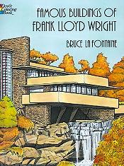Famous Buildings Coloring Book-0