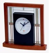 Willits Art Glass Table Clock-0