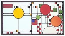 Coonley I Clerestory Art Glass-0