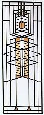 Robie House II Art Glass-0