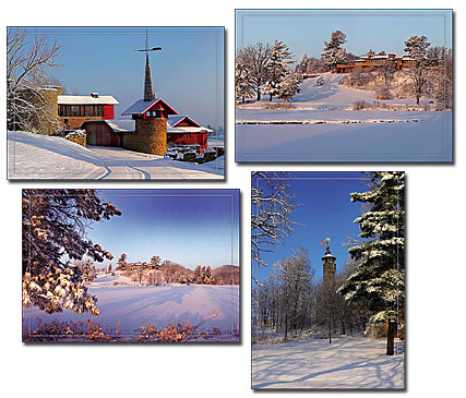 Taliesin in Winter Holiday Cards-926