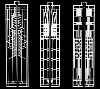 Art Glass Wrightsicle Set #4-0