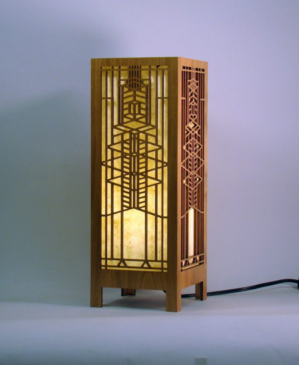Robie House Glass Lightbox-0