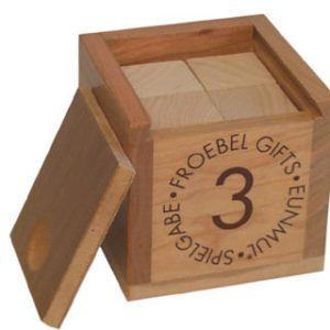 Froebel Gift 3 - Cubes-0