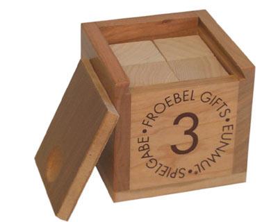 Froebel Gift 3 - Cubes - Frank Lloyd Wright's Taliesin