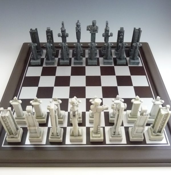Midway Gardens Chess Set-952