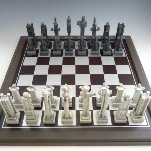 Midway Gardens Chess Board-0