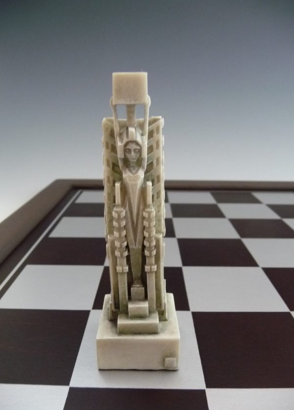 Midway Gardens Chess Set-949