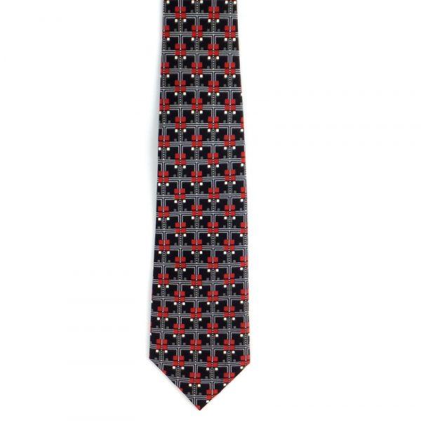 Coonley Frieze Tie - Black-0