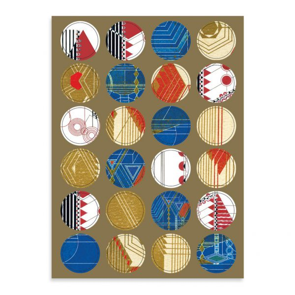 FLLW Holiday Luxe Notecard Set-2241