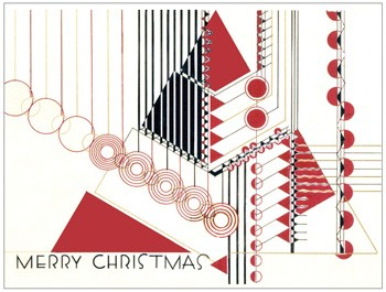 FLLW Holiday Luxe Notecard Set-1925