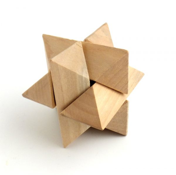 Triangle 3D Wood Puzzle-0