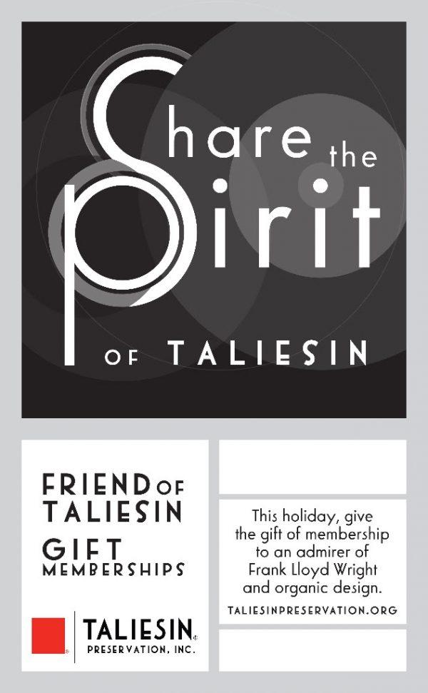 Friend of Taliesin Gift Memberships-0