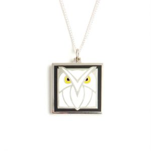 Owl Necklace-0