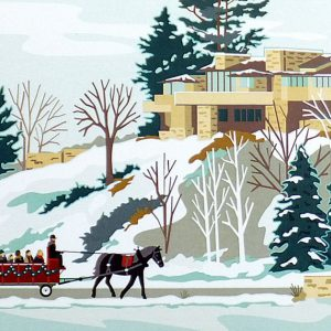 Taliesin Winter Festival Notecard Set-0