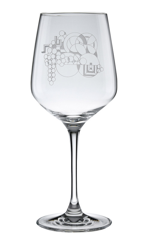 May Basket Wine Glass-0