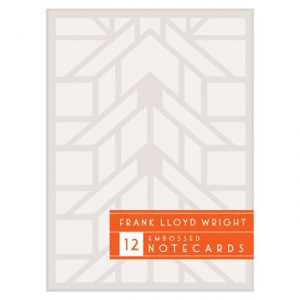FLLW Embossed Boxed Notecards-0