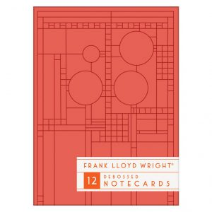 FLLW Bright Geometic Boxed Notecards-0