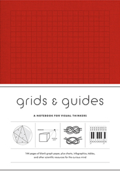 Grids & Guides Notebook - Red-0